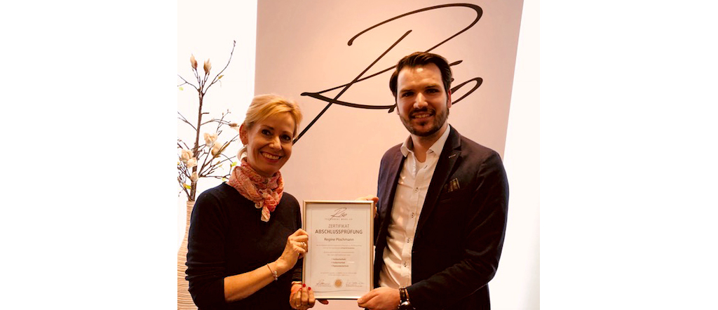 Zertifikat Riso Regine Plochmann