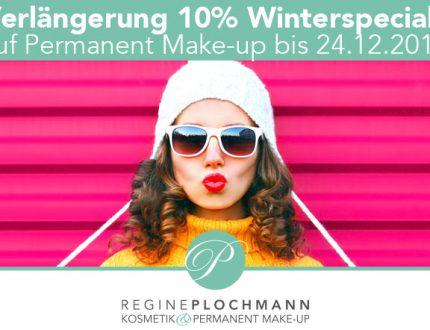 Winterspecial 10% auf Permanent Make-up Starnberg