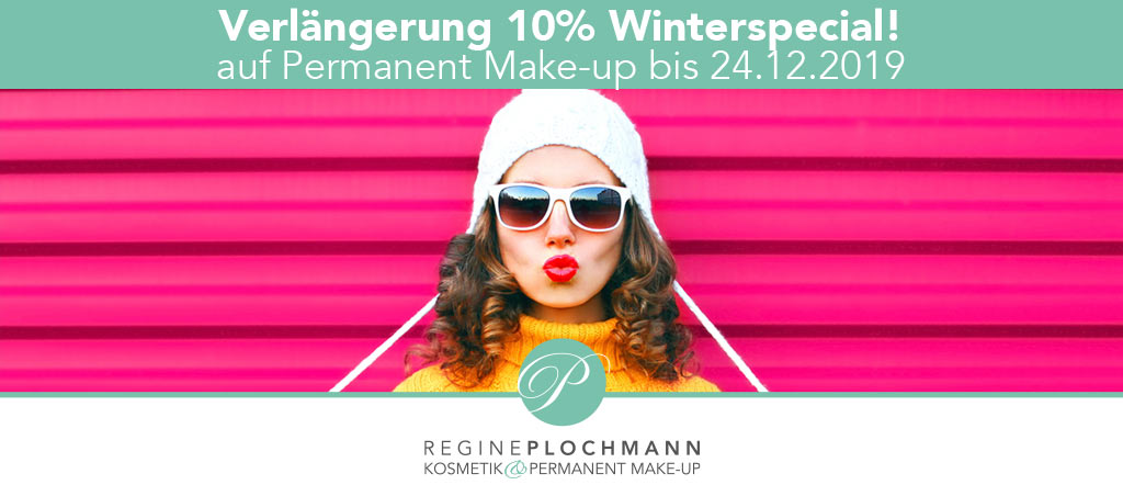 Winterspecial 10% auf Permanent Make-up Starnberg